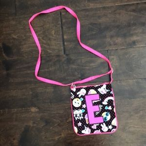 "Girl's Justice ""E"" purse (adjustable strap)"